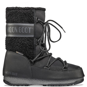Moon Boot Monaco Wool Wp Mid Winter Boots Dames, black